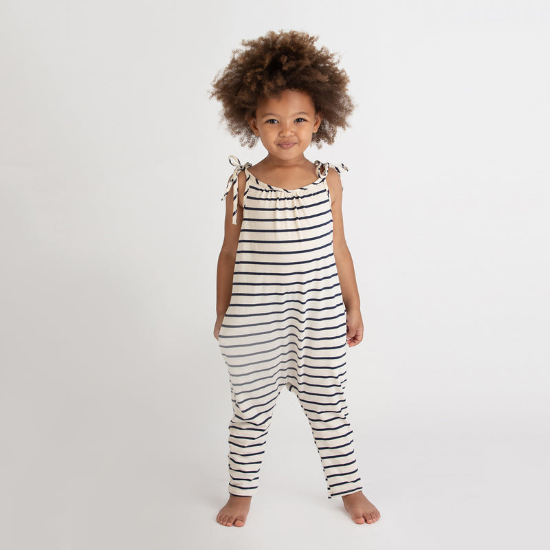yoya, kids, baby, girls, go gently nation, casual, summer, lounge, tie shoulder, snap crotch, romper, onesie, outfit