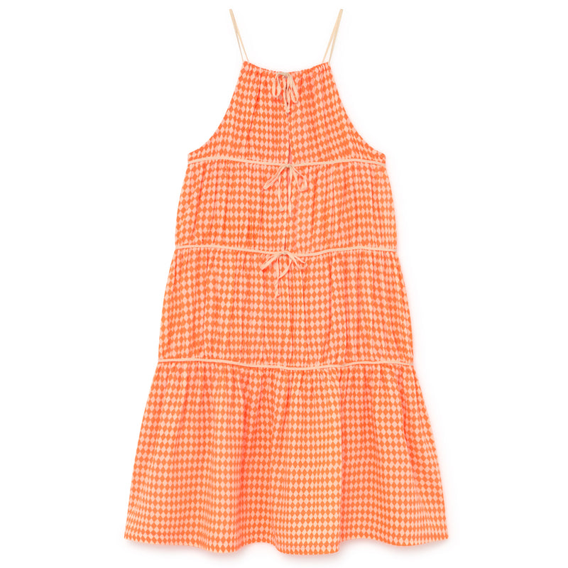 yoya, kids, girls, little creative factory, summer, casual, tiered, tank top, harlequin, sun dress, maxi