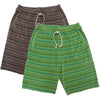 yoya kids nico nico kostas terry surf shorts casual summer elastic drawstring waistband striped
