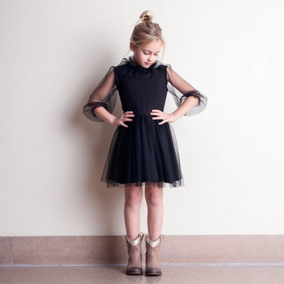 tocoto vintage tulle skirt dress