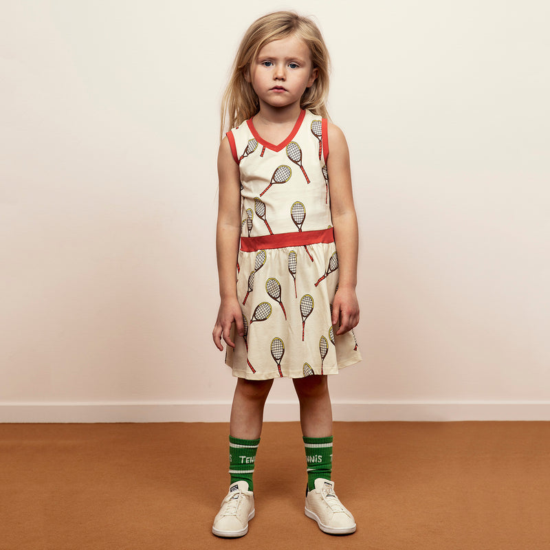 yoya, kids, girls, mini rodini, summer, casual, jersey, sleeveless graphic printed, dress