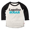prefresh legalize sugar raglan t-shirt