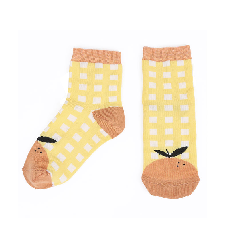yoya, kids, baby, boys, girls, emile et ida, fruit, patterned, socks