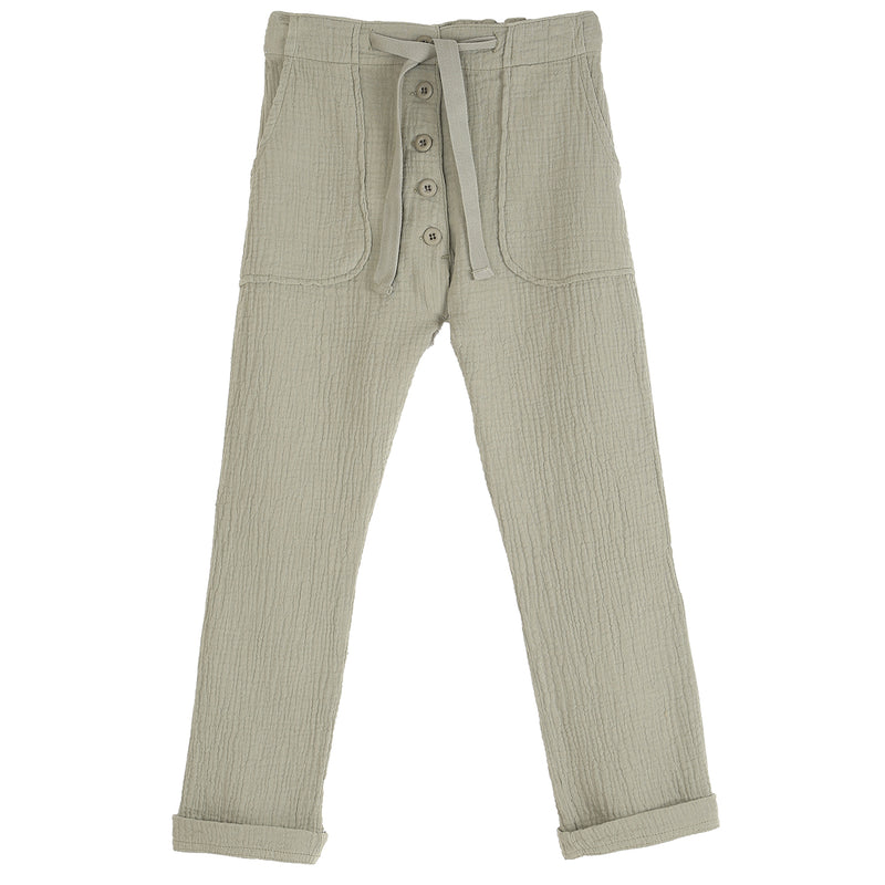 yoya, kids, boys, girls, emile et ida, casual, summer, creped cotton, drawstring, soft, beachy, lounge pants