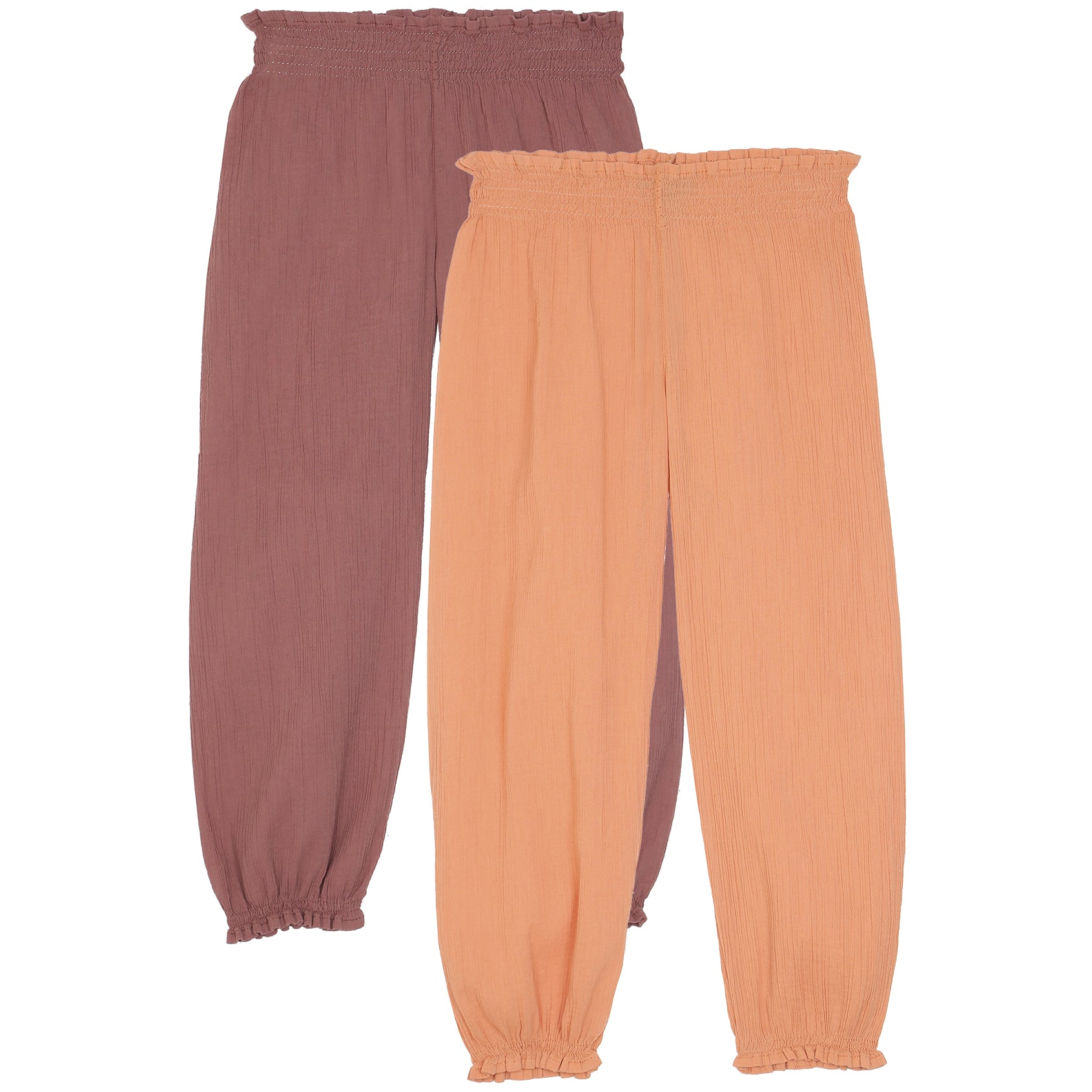 yoya, kids, girls, emile et ida, lightweight, creed, summer, casual, lounge, harem, pants,