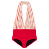 little creative factory bamboo wrap bathing suit