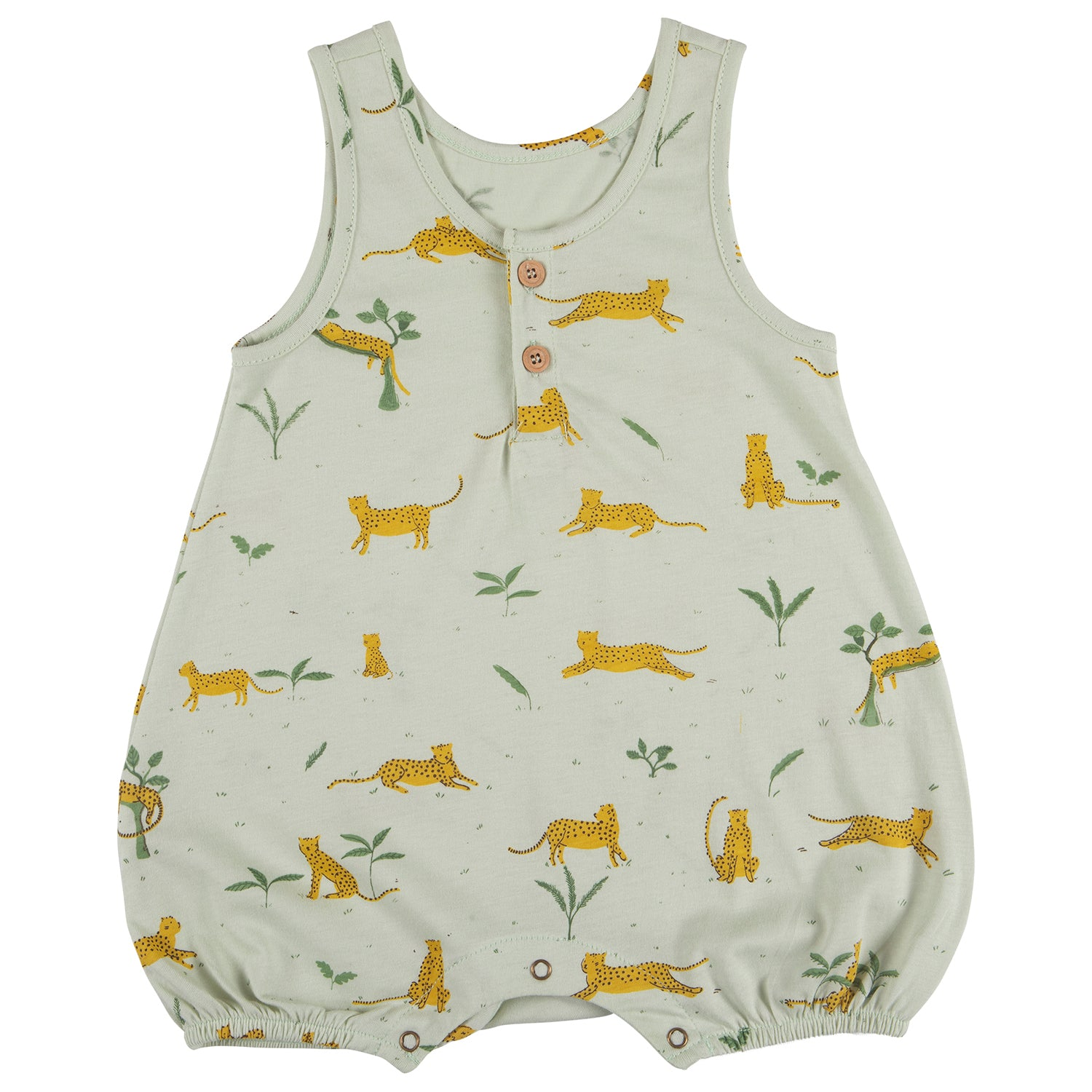 yoya, kids, baby, boys, girls, red caribou, summer, casual, lounge, pajama, tank top, legless, romper, onesie