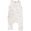 go gently nation jersey long romper onesie