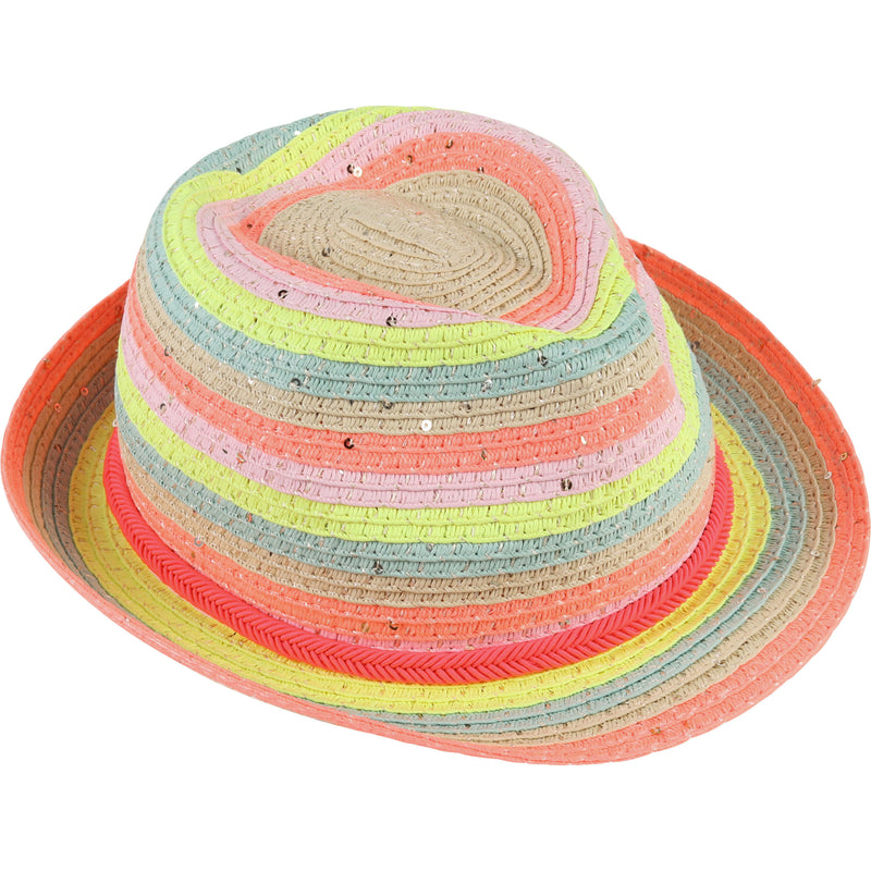 yoya, kids, girls, summer, lightweight, woven, straw, beach, fedora, hat