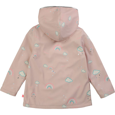 billieblush magic rainbow raincoat