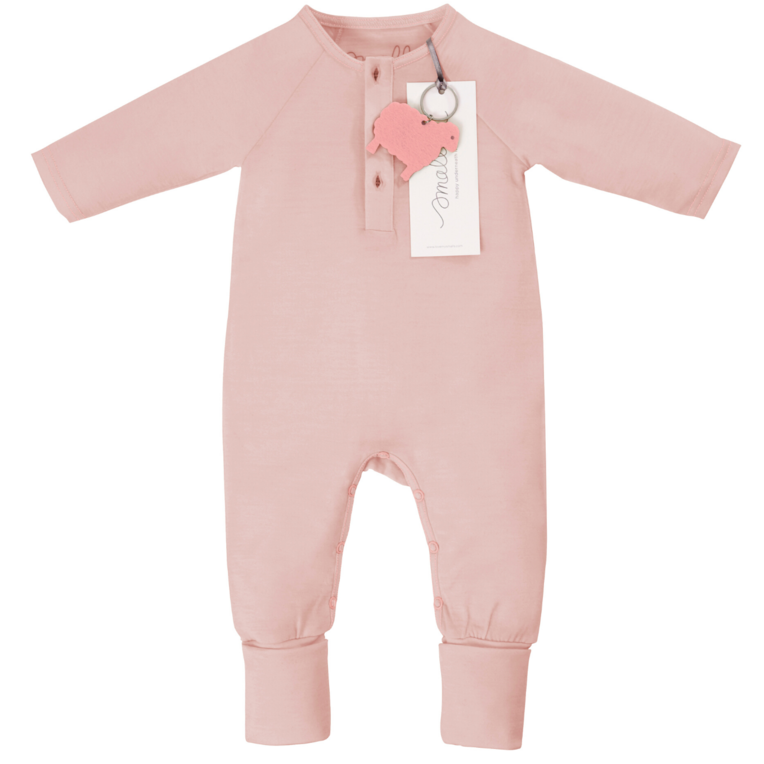 smalls merino wool onesie