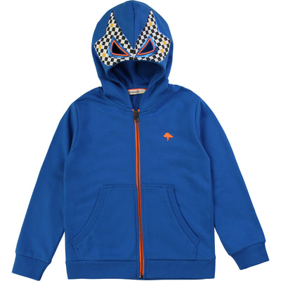 yoya, kids, boys, billieblush, billybandit, casual, dress up, zip front, luchador, wrestler, mask, zip up, hoodie, sweat shirt