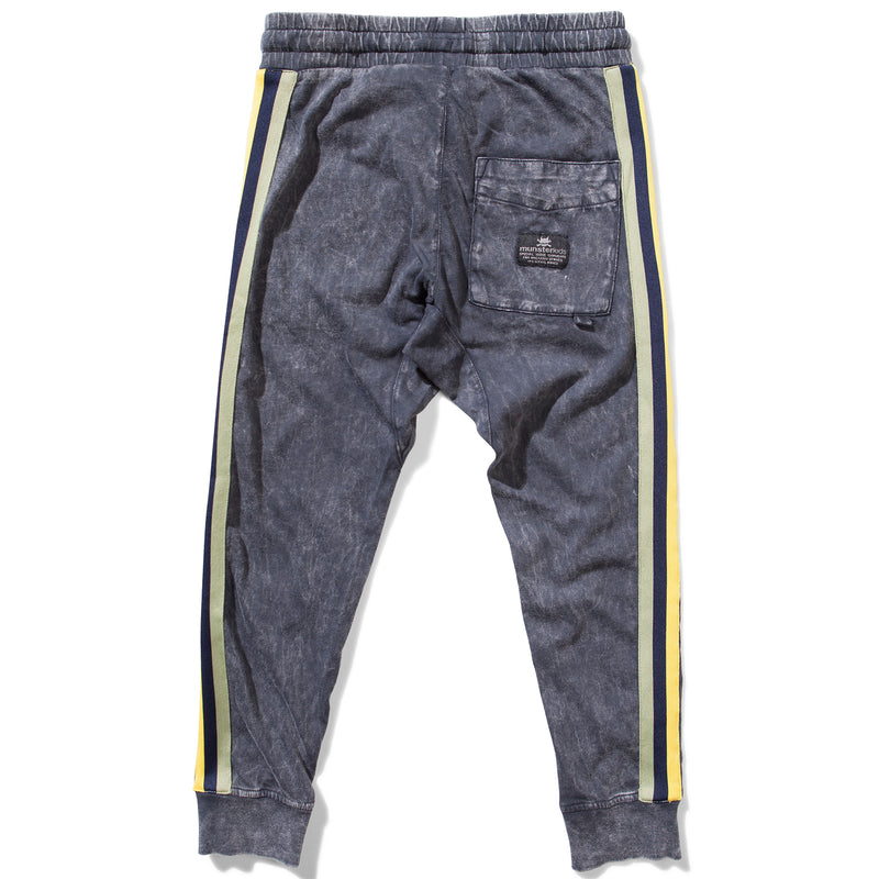 yoya, kids, boys, munsterkids, summer, lightweight, casual, acid washed, drawstring, slim fit, jogger, track pants