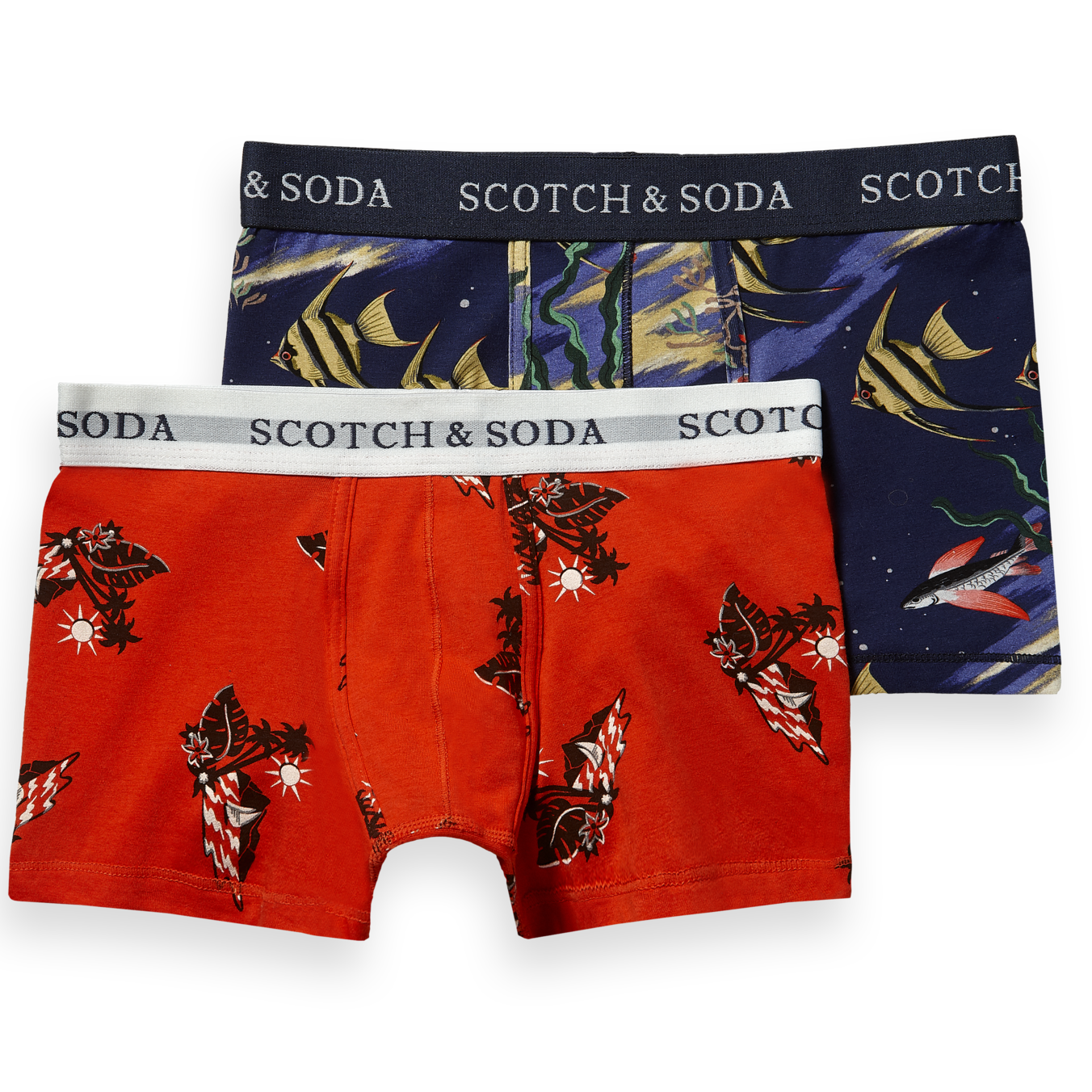 yoya, kids, boys, scotch shrunk, graphic printed, boxer briefs, underwear