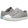 yoya kids native jefferson slip-ons grey white summer casual