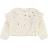 billieblush furry sweater with allover gems