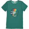 simple kids linen nasa tee shirt