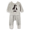 imps & elfs cozy penguin baby set