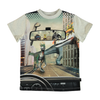 yoya kids childrens molo road t-shirt round neckline short sleeves graphic print spring summer casual
