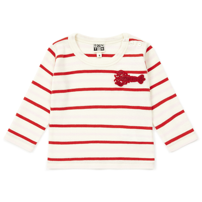 bonton lobster long sleeved baby t-shirt