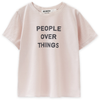 "go gently ""people over things"" t-shirt"