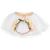 obi obi flower crown and tutu dress-up set (more colors)