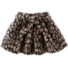 tocoto vintage animal print skirt