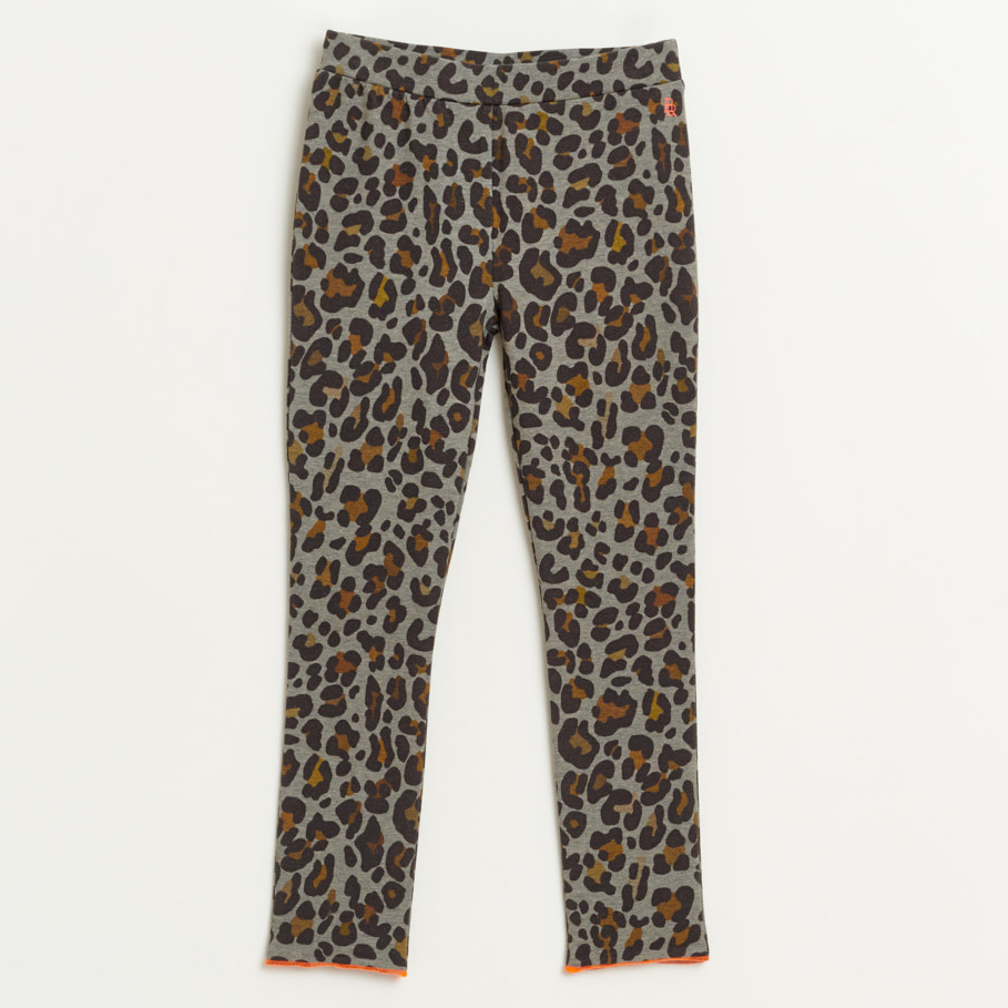 bellerose mint knit leopard pants