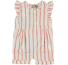 yoya kids and baby kidscase pippa romper striped ruffled sleeveless summer casual formal outfit