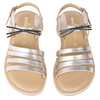 yoya kids childrens emile et ida meow sandals casual summer metallic shoes