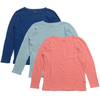yoya kids childrens bonton girls boys layering long sleeved tshirt top