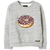 heather grey donut
