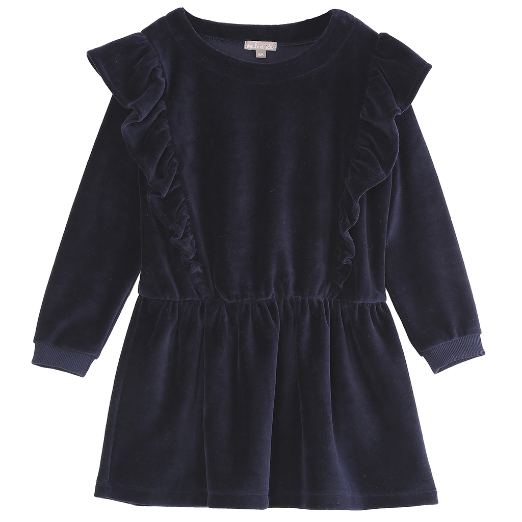 emile et ida ruffle dress