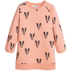 mini rodini badger sweat dress