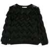 andorine fringed sweater