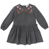 yoya kids childrens bonheur du jour girls embroidered wintere dress