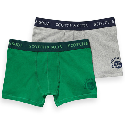scotch shrunk 2-pack solid boxers