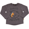 rock your baby david meowie t-shirt