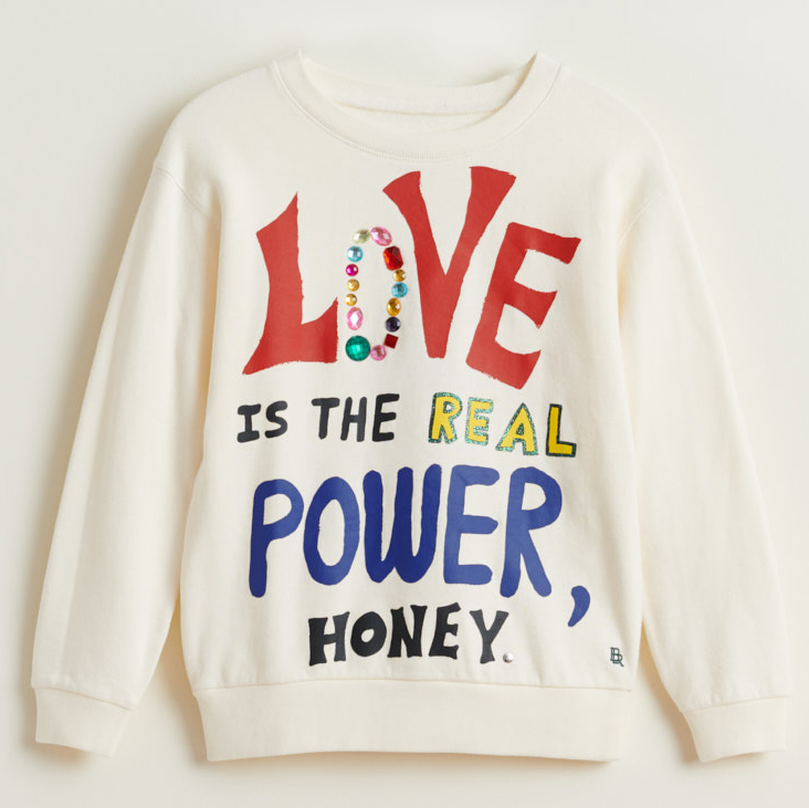 bellerose banzi love sweatshirt