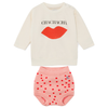 yoya, kids, baby, bobo choses, casual, lightweight, summer, sweatshirt, bloomer, culotte, outfit, set