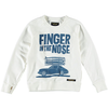 finger in the nose hank sweatshirt