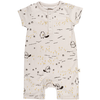 red caribou blooming beaver jumpsuit