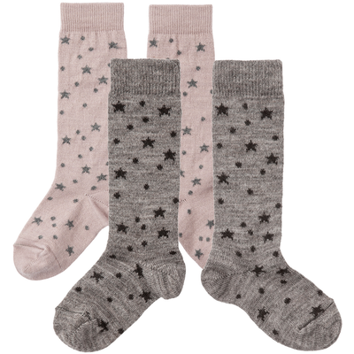 tocoto vintage dots and stars baby socks