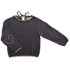 emile et ida heart on your sleeve baby sweater