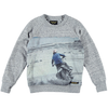 finger in the nose hank moto sweatshirt