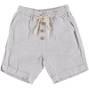 yoya kids buho simon striped bermuda shorts off-white buttons summer casual formal