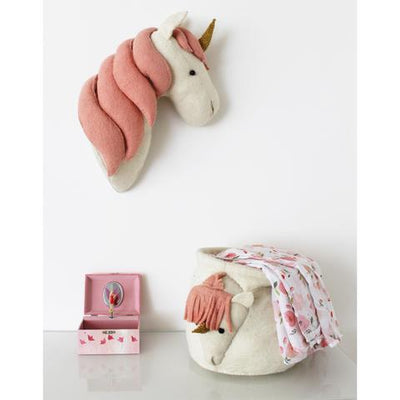 fiona walker handmade felt animal head