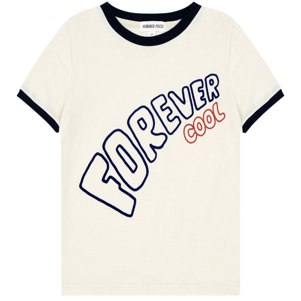 yoya, kids, boys, girls, hundred pieces, casual, summer, slogan, ringer, t-shirt