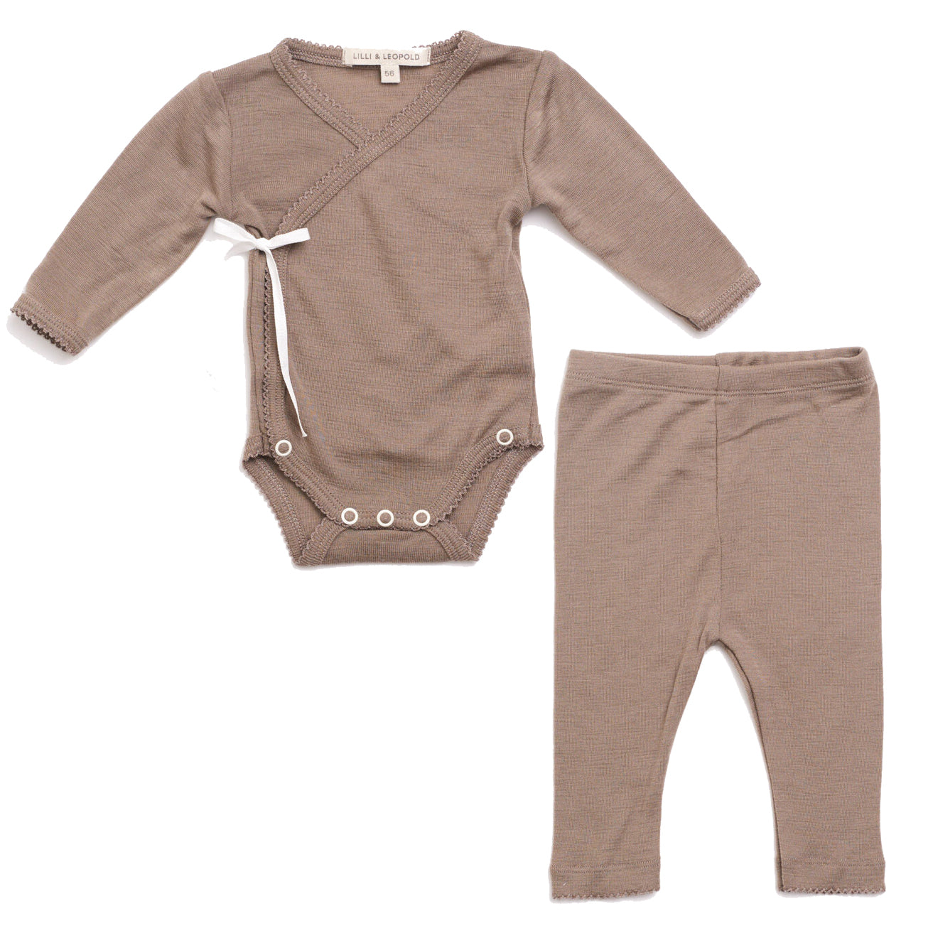 lilli and leopold kimono baby set (more colors)