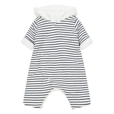 petit bateau kitty hooded coverall